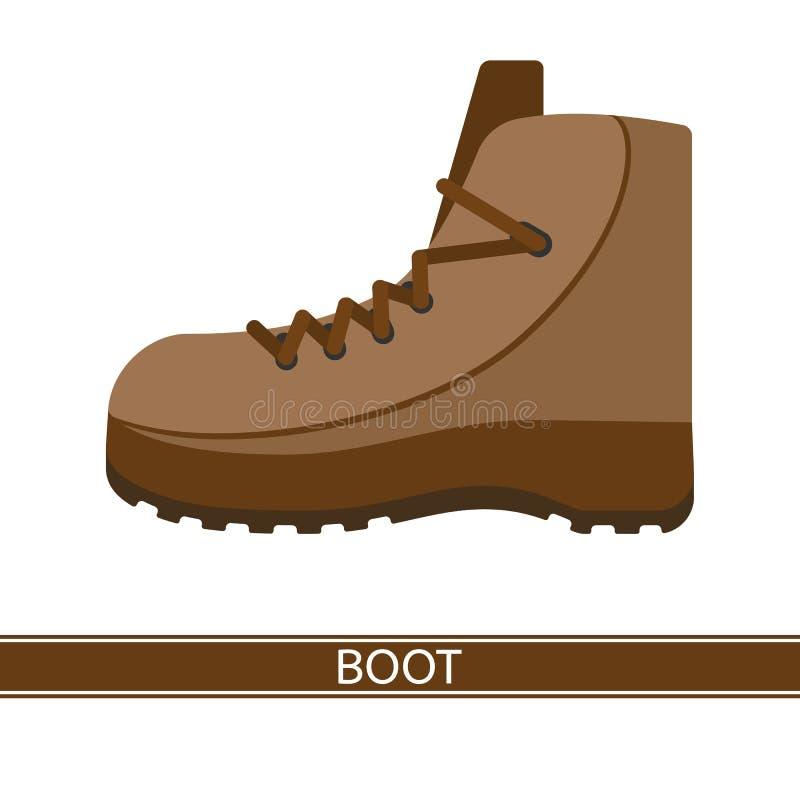 Вектор значка ботинка бесплатная иллюстрация