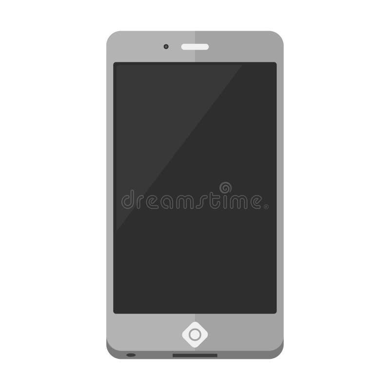 Вектор значка мобильного телефона бесплатная иллюстрация