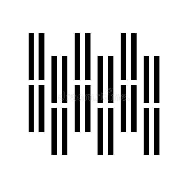 Вектор значка партера изолированный на белой предпосылке, знаке партера, символах конструкции иллюстрация вектора