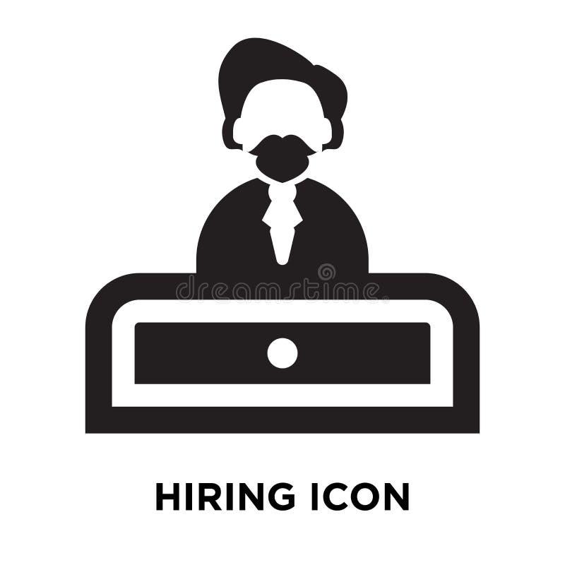 Вектор значка рабочего места изолированный на белой предпосылке, концепции логотипа  бесплатная иллюстрация