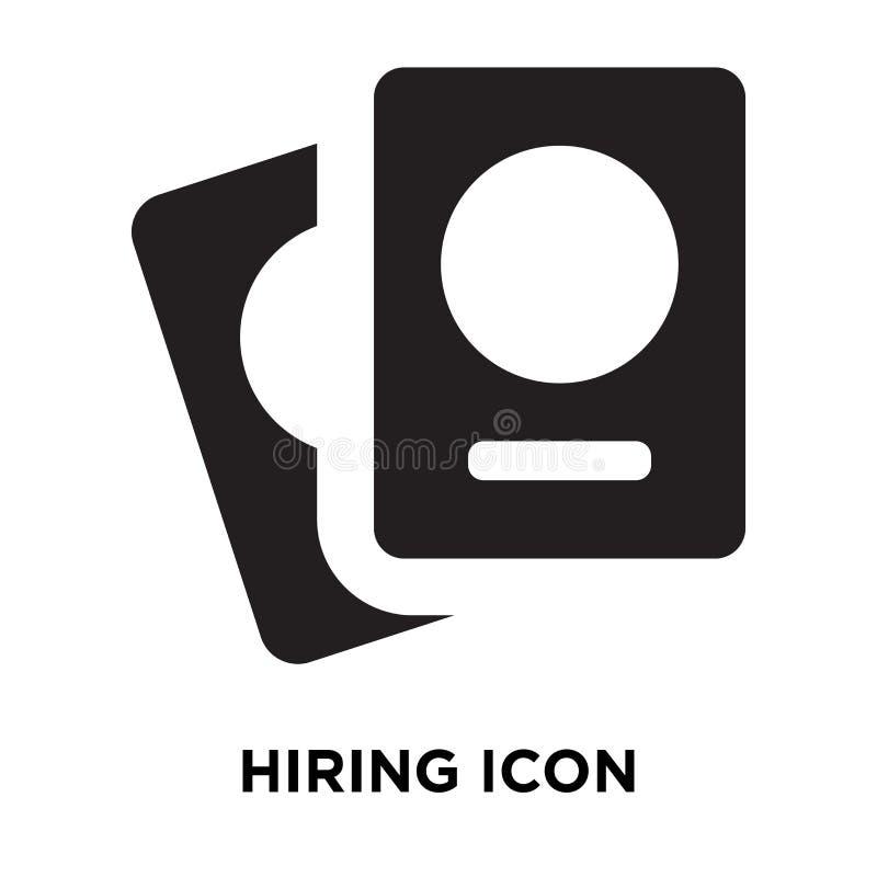 Вектор значка рабочего места изолированный на белой предпосылке, концепции логотипа  иллюстрация вектора