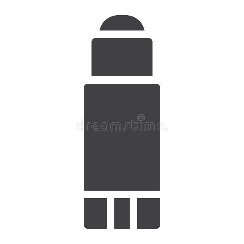 Вектор значка ручки клея иллюстрация штока