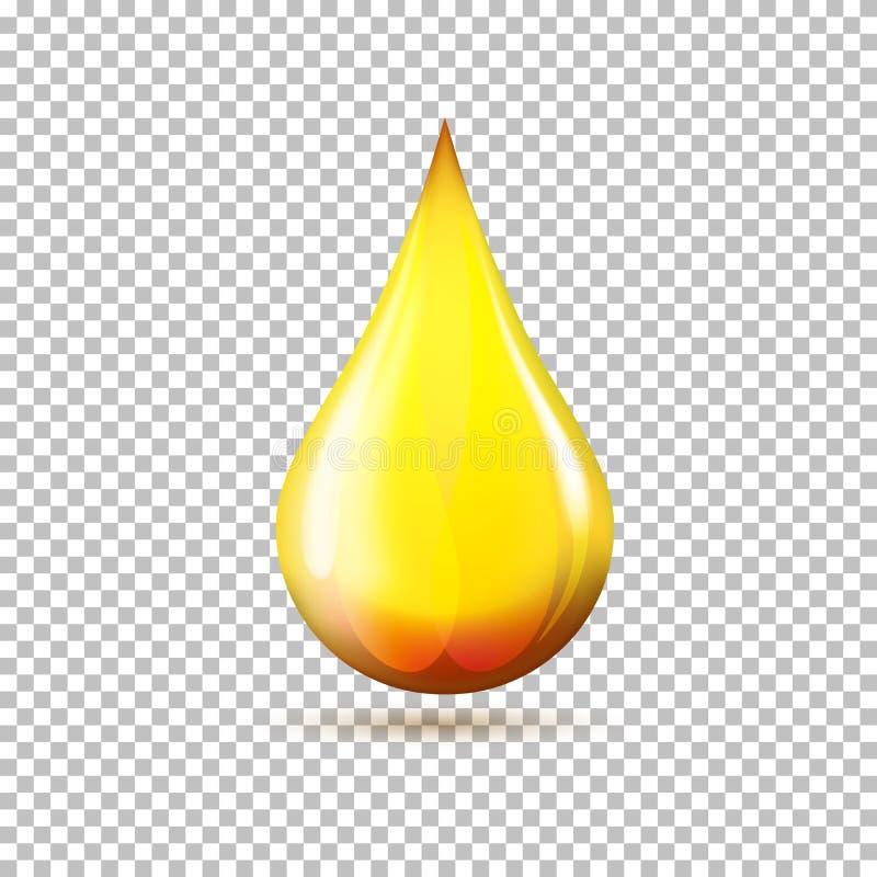 Вектор значка сброса масла бесплатная иллюстрация