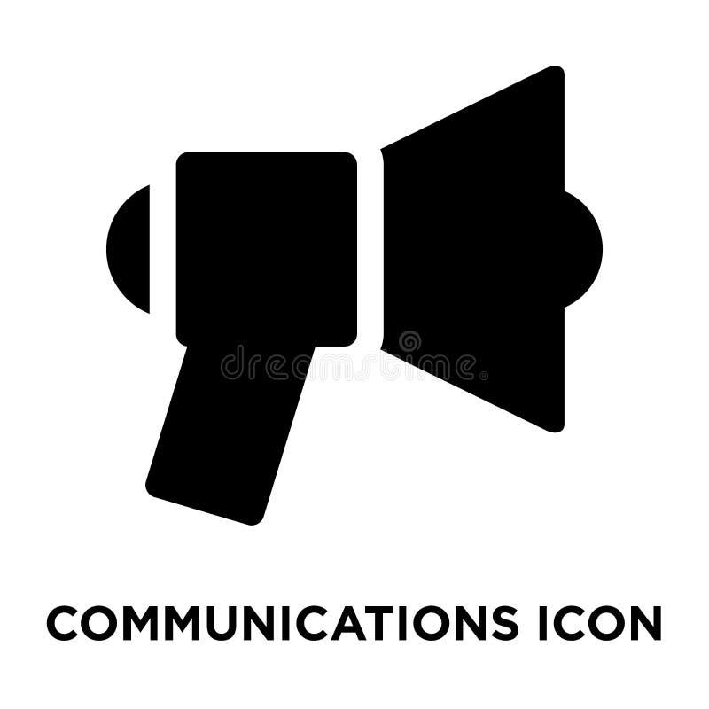 Вектор значка связей изолированный на белой предпосылке, логотипе co иллюстрация вектора