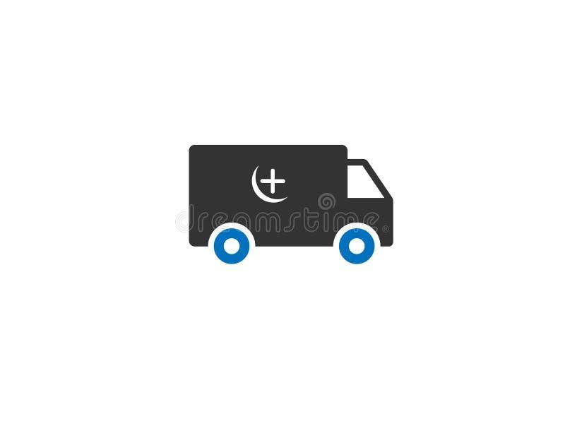 Вектор значка сети машины скорой помощи/автомобиля стоковая фотография rf