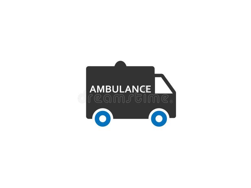 Вектор значка сети машины скорой помощи/автомобиля стоковое фото rf