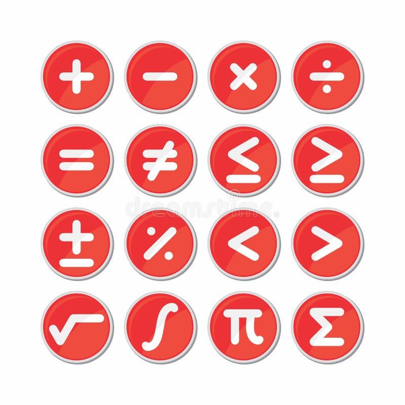 Вектор значка символа математики круга бесплатная иллюстрация