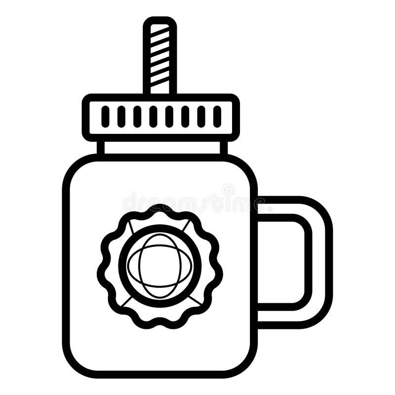 Вектор значка соды бесплатная иллюстрация