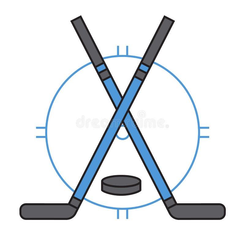 Вектор значка хоккея команды спорта бесплатная иллюстрация