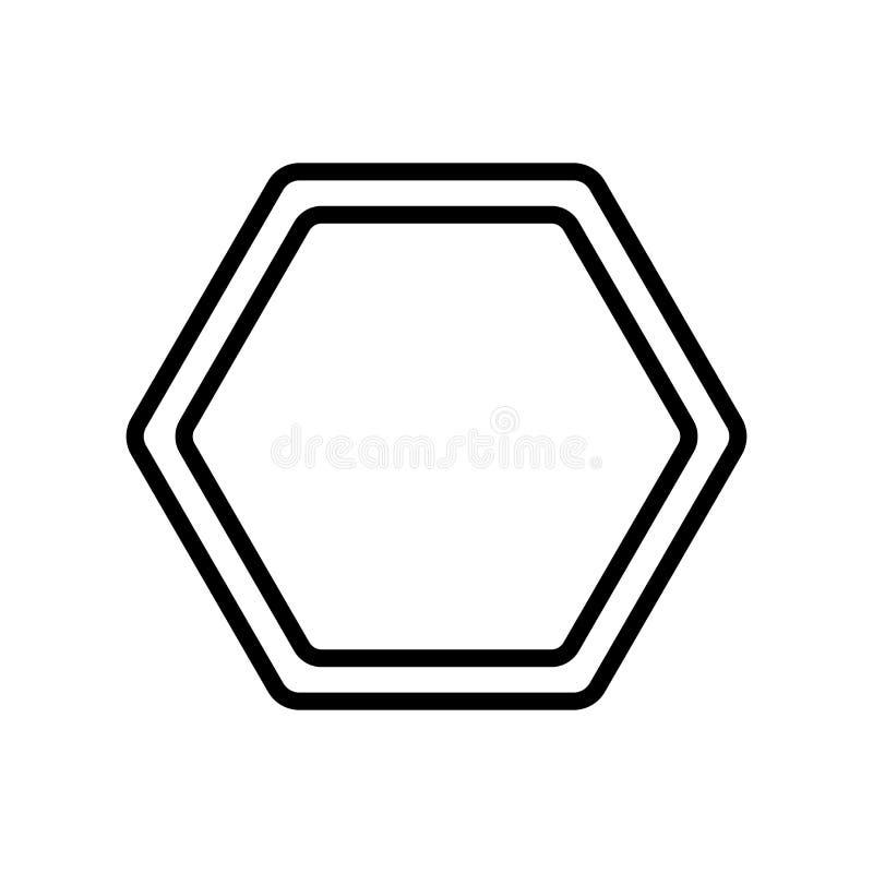 Вектор значка Poligon изолированный на белой предпосылке, знаке Poligon бесплатная иллюстрация