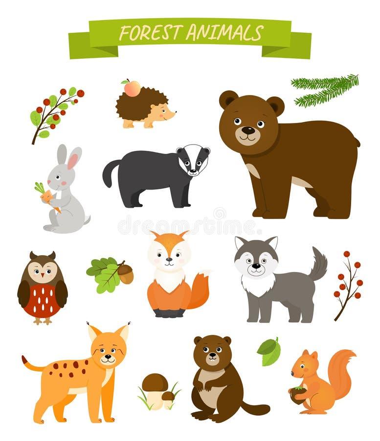 вектор изображения собрания животных иллюстрация штока