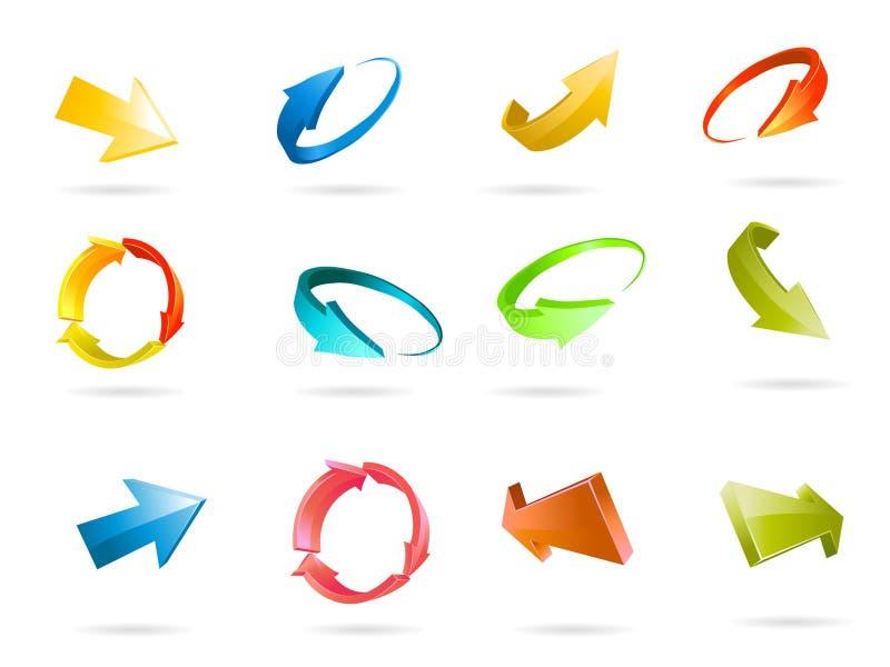 вектор иконы стрелки бесплатная иллюстрация