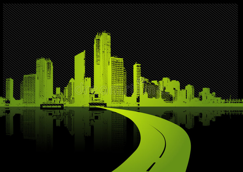 вектор иллюстрации города иллюстрация вектора