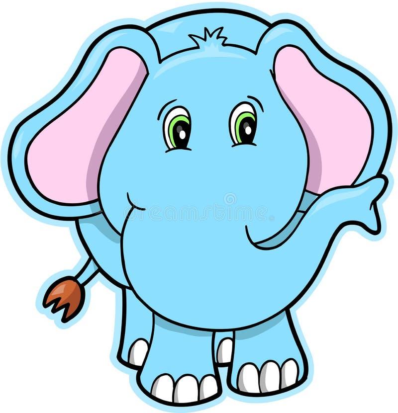 вектор иллюстрации слона