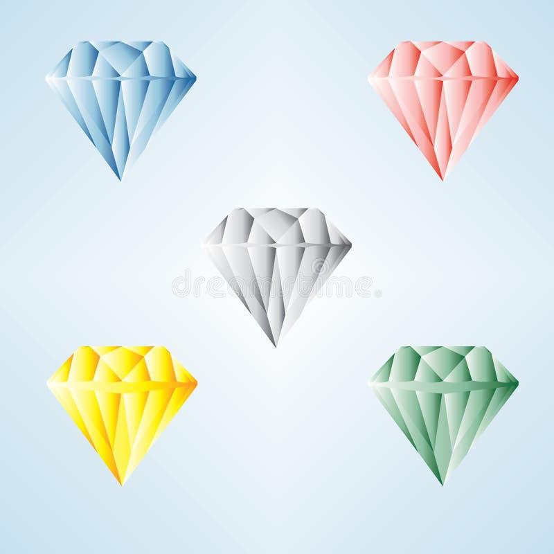 вектор иллюстрации gemstone диаманта бесплатная иллюстрация