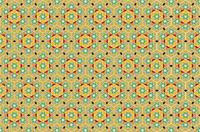 вектор искусства геометрический исламский