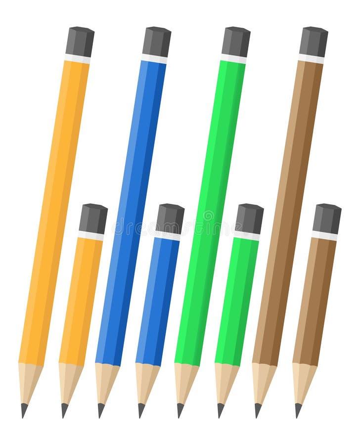 вектор карандашей иллюстрация штока