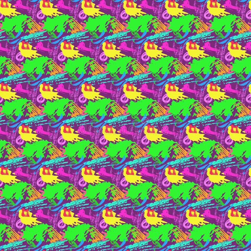 Download Вектор картины абстрактной предпосылки безшовный Иллюстрация вектора - иллюстрации насчитывающей конструкция, декоративно: 81802220