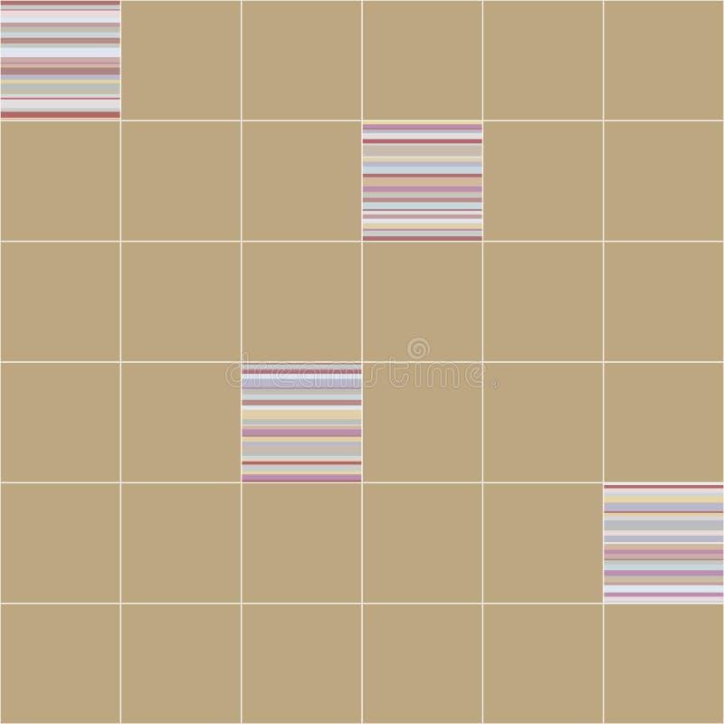вектор картины безшовный керамические ceranic плитки текстуры иллюстрация штока