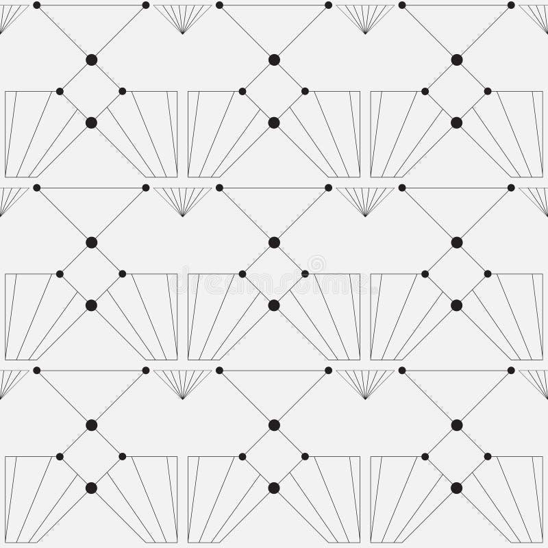 вектор картины безшовный самомоднейшая стильная текстура бесплатная иллюстрация