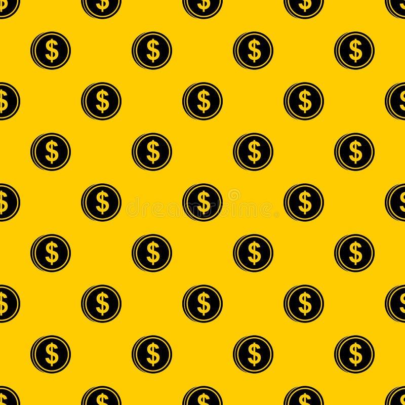Вектор картины доллара монетки иллюстрация вектора