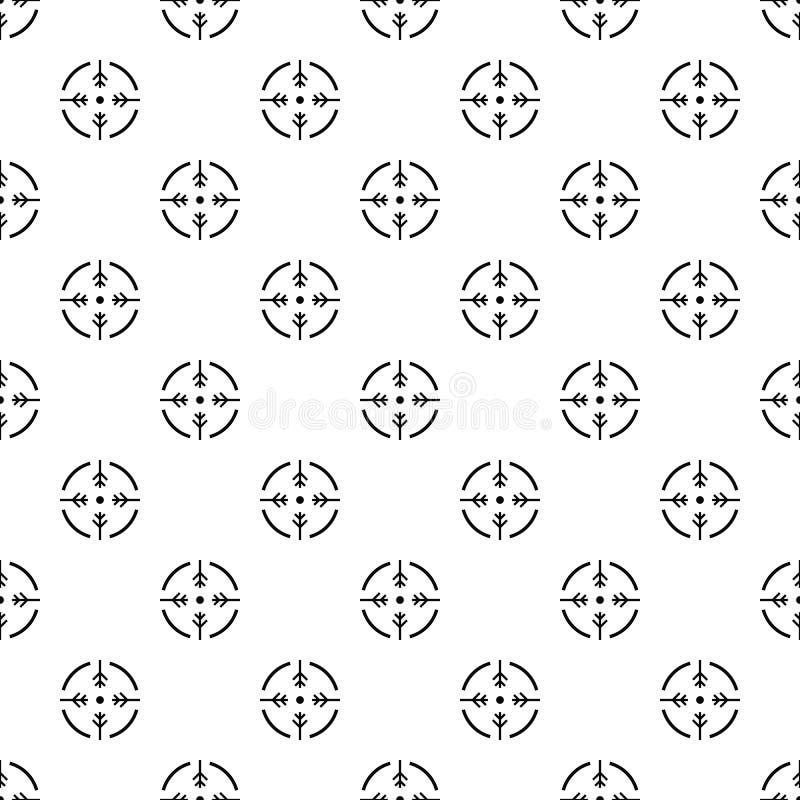 Вектор картины круга всхода безшовный бесплатная иллюстрация