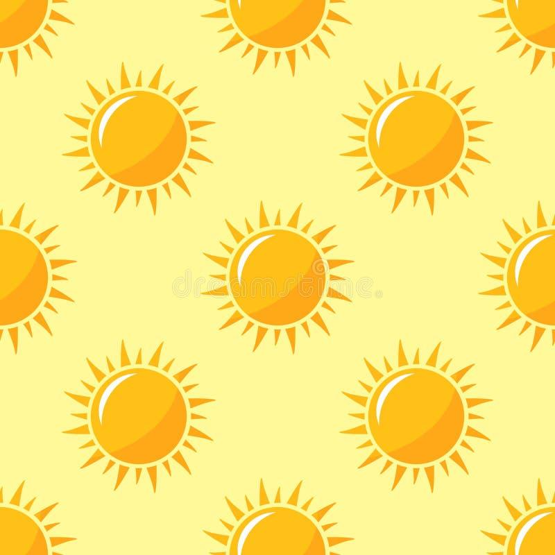 Вектор картины солнец иллюстрация штока
