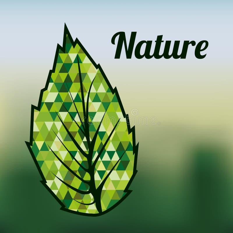 вектор картины экологичности конструкции хороший иллюстрация вектора