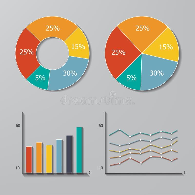 вектор комплекта элементов infographic бесплатная иллюстрация