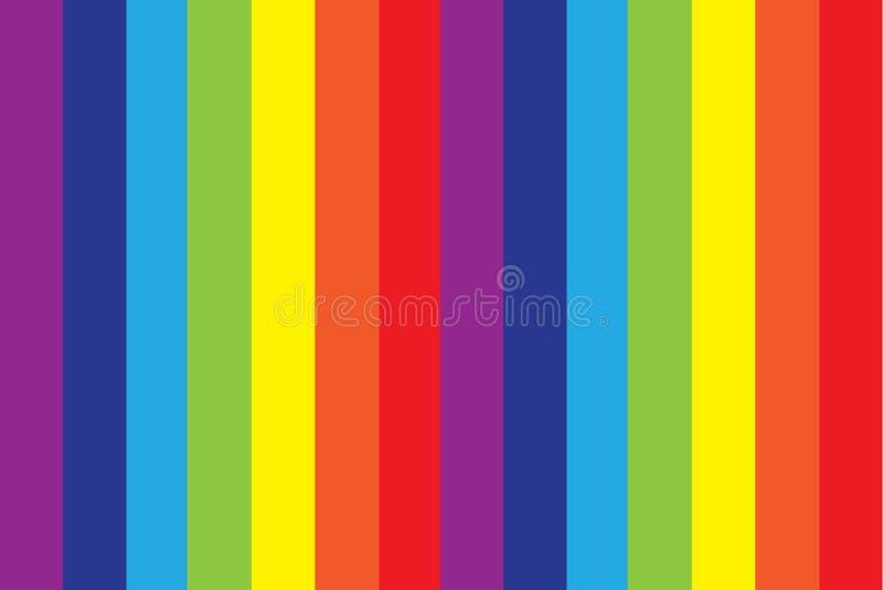 вектор костюмов радуги illustratin предпосылки безшовный wallpaper наилучшим образом иллюстрация штока