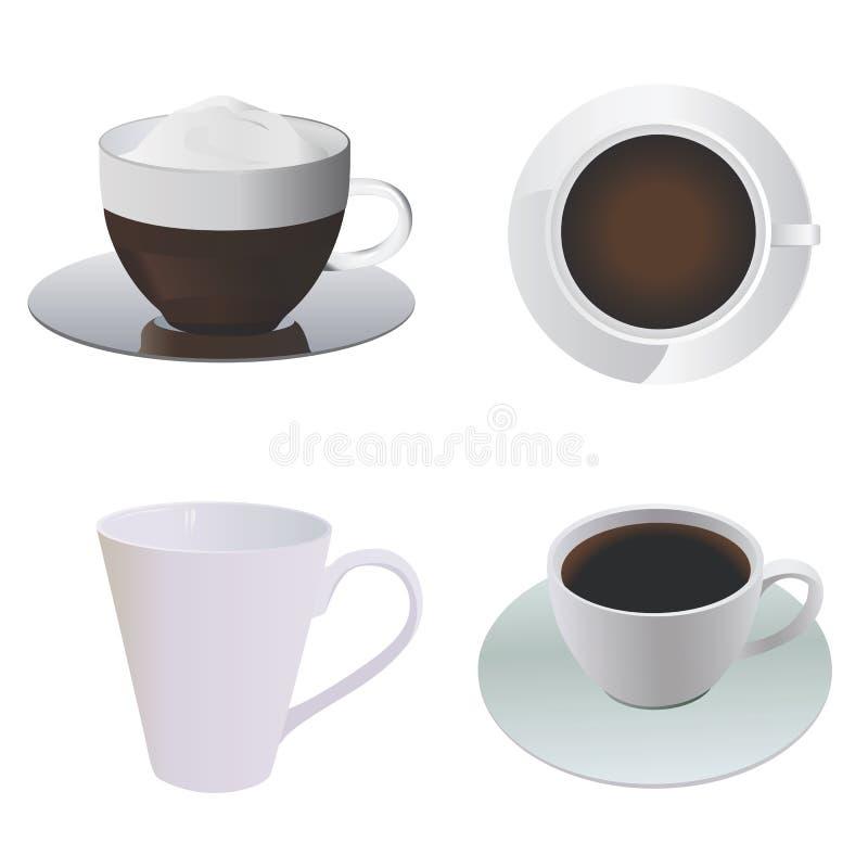 вектор кофейной чашки иллюстрация штока