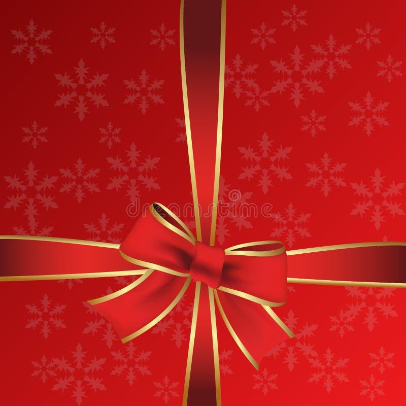 вектор красного цвета подарка иллюстрация штока
