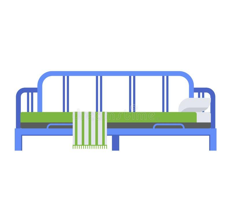 Download Вектор кровати спать иллюстрация вектора. иллюстрации насчитывающей современно - 81801491