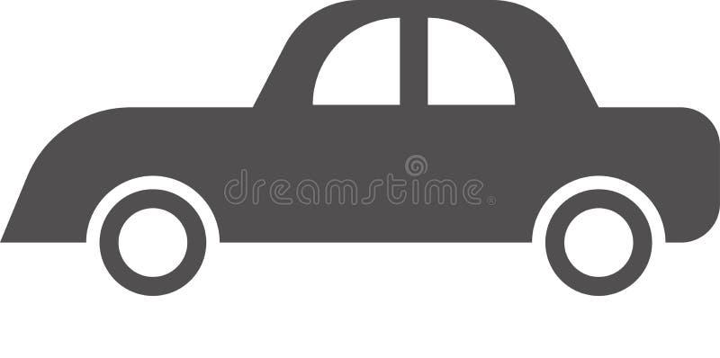 Вектор логотипа автомобиля на белой предпосылке иллюстрация вектора