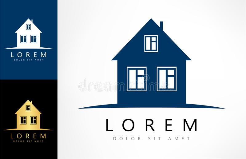 Вектор логотипа дома иллюстрация вектора