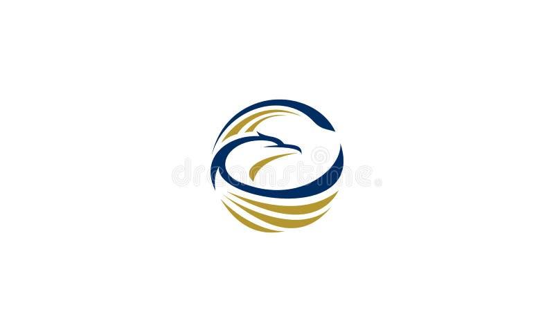 Вектор логотипа орла бесплатная иллюстрация