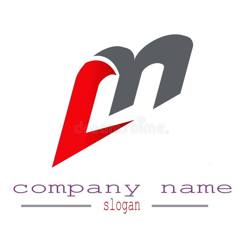 Вектор логотипа письма m бесплатная иллюстрация