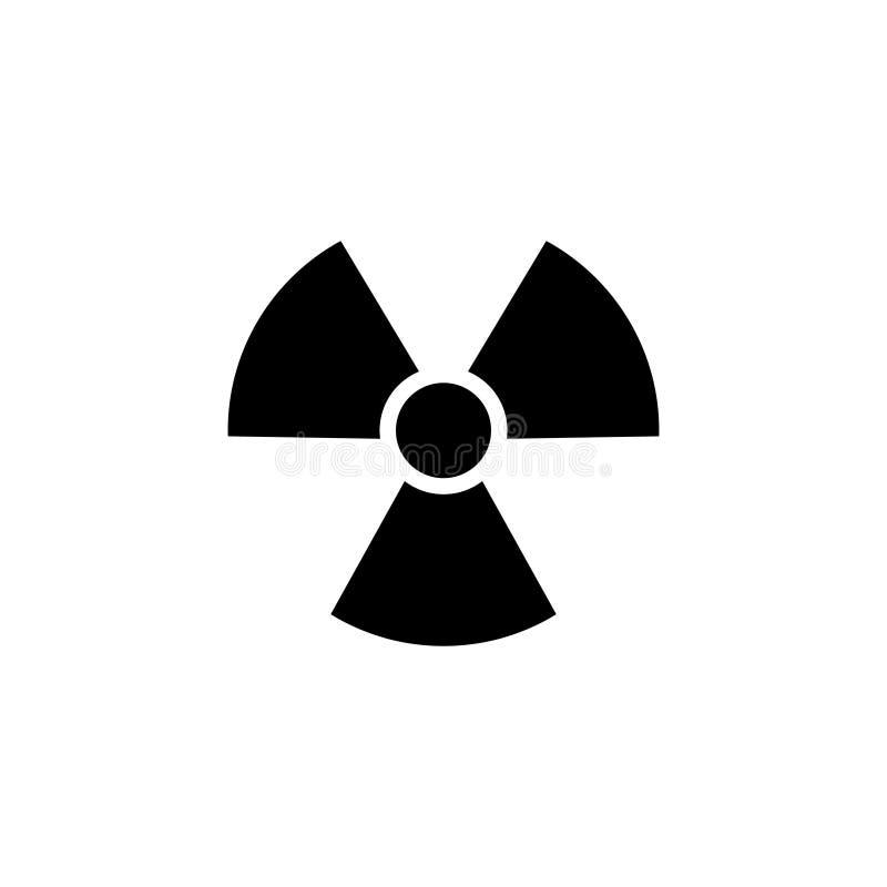 Вектор логотипа радиации бесплатная иллюстрация