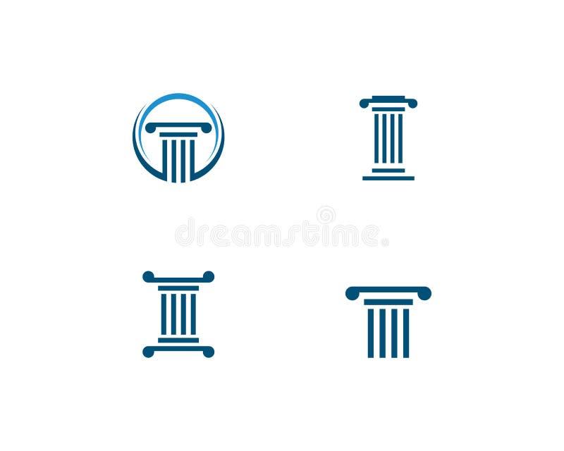 вектор логотипа столбца иллюстрация штока