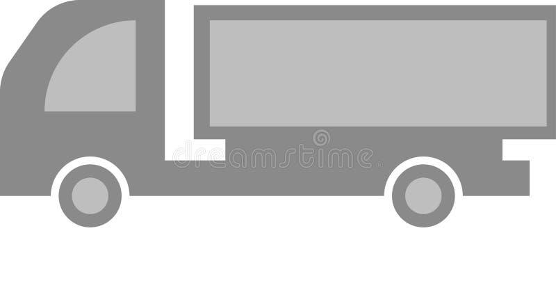 Вектор логотипа тележки на белой предпосылке иллюстрация штока