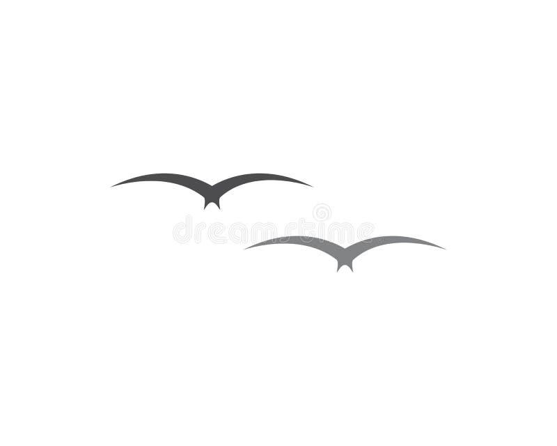 Вектор логотипа чайки бесплатная иллюстрация