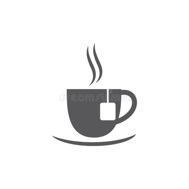 Вектор логотипа чая иллюстрация вектора