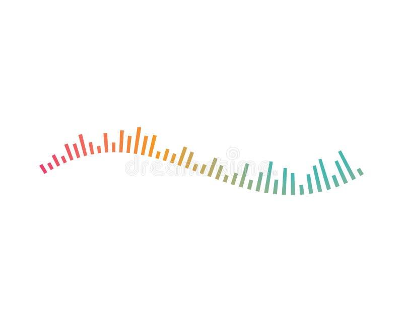 вектор логотипа ilustration звуковой войны иллюстрация штока