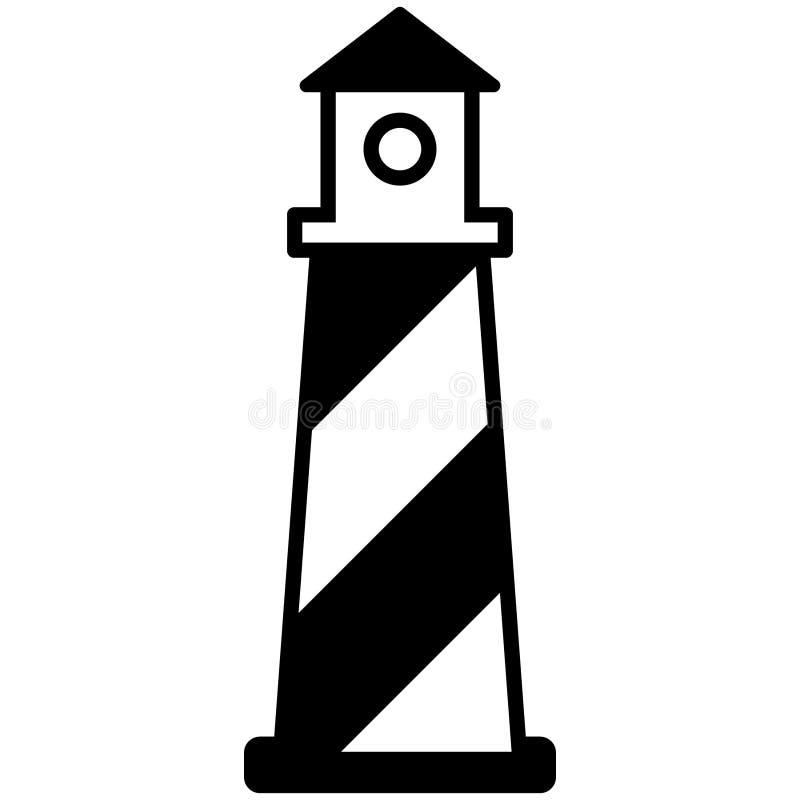 Вектор маяка, нарисованная рука, вектор eps, Eps, логотип, значок, crafteroks, иллюстрация силуэта для различных польз бесплатная иллюстрация