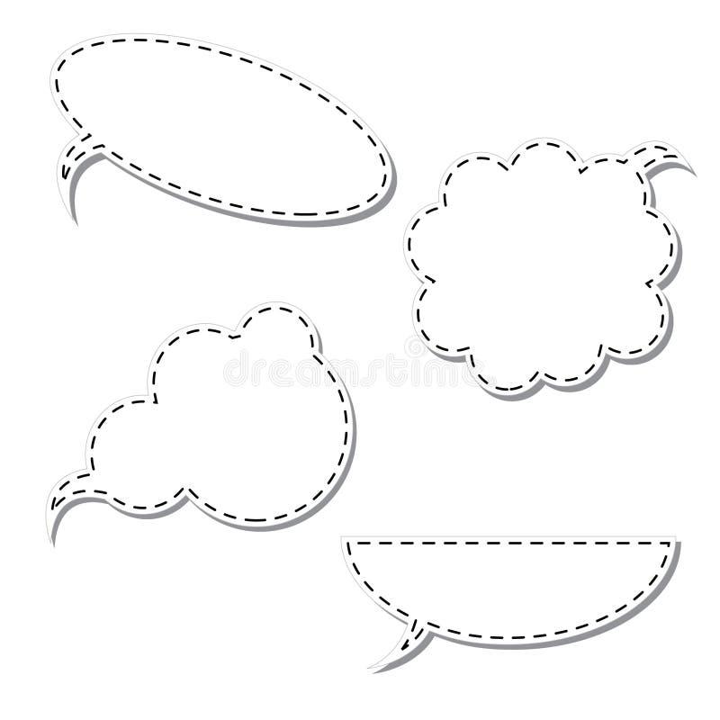 вектор мысли шаржа пузыря бесплатная иллюстрация