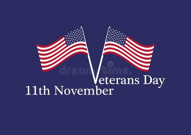 Вектор дня ветеранов бесплатная иллюстрация
