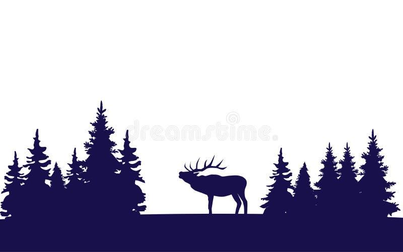 Download вектор открытки оленей рождества Иллюстрация вектора - иллюстрации насчитывающей бобра, рождество: 81814365