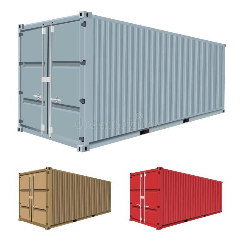 вектор перевозки контейнера
