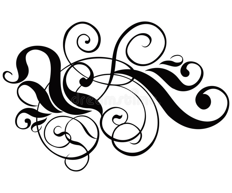 Download вектор переченя декора Cartouche Иллюстрация вектора - иллюстрации насчитывающей филигранно, чертеж: 476039