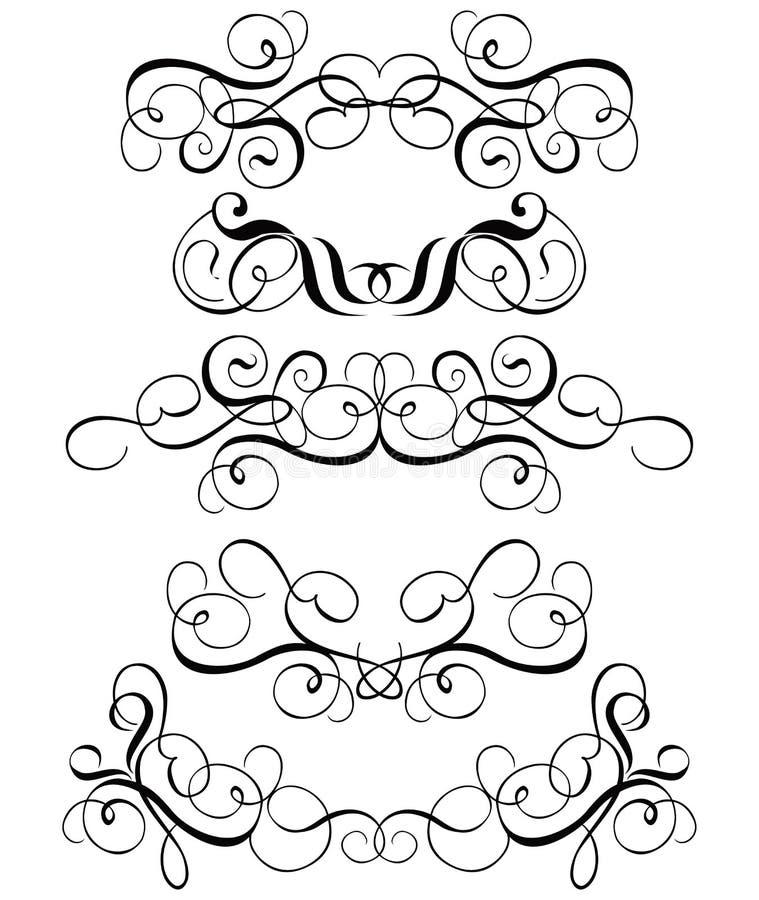 Download вектор переченя декора Cartouche Иллюстрация вектора - иллюстрации насчитывающей влюбленность, художничества: 478057